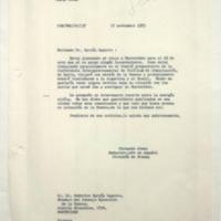 [Estimado Dr. García Capurro : Estoy planeando mi viaje a Montevideo]