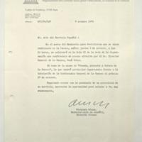 [Sr. Jefe del Servicio Español : En el marco del Seminario para Periodistas]
